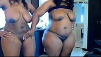 www.hotcamgirl... cam on masturbates bbw ebony Two