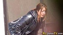 Japanese teen sluts pee
