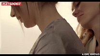 LETSDOEIT - Kinky Lesbians Enjoy Cosy Pussy Licking (Nancy A, Ellie Leen, Lola Myluv)