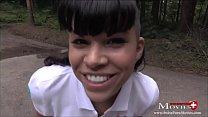 Blowjob im Wald bis zum Donner mit Amanda Jane ... thumb