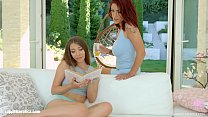Amina Danger and Stefanie Moon in Between the l...