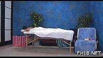 Sexy hot babe bonks and sucks her massage therapist