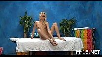 Massage room movie scene