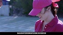 DaughterSwap - Cute Tennis Girls Fucked by Step...