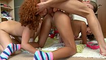 Horny Cream Lovers Sunny and Meddie Get Their T...