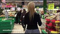 Flashing my body in public in a shopping center