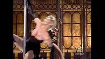 Italian tv sexy mega oops Ela Weber lap dance Thumbnail