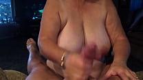 Grandma giving blowjob POV thumb