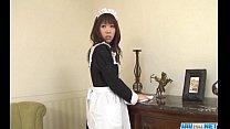 Aiuchi Shiori Japan Maid Sucks Her Horny Master