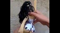 Novinha gostosa dançando funk mini saia sem calçinha