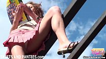 farmers daughter lilia flashing her panties