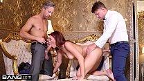Glamkore Ani Blackfox gets a sensual DP in a l...