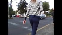 girl ass candid nyce calle la en nalgas Bonitas