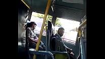 dick on bus to cum