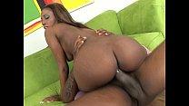 Ebony teen getting pussy ravaged
