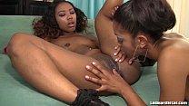 Sexy Black Girls Lez Out Hardcore!