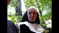 crazy german nun loves cock Thumbnail