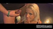 Blonde slut fucked  1 Widescreen TSO[11]