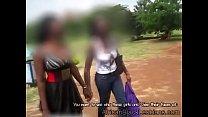 Hot day makes 2 Beautiful Ugandan lezzies seek ...
