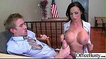 (Nikki Benz) Busty Slut Girl Get Banged Hardcore In Office clip-22