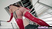 Oiled Girl (Allie Haze) With Big Round Ass Like...