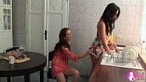 Seduced by Two Lesbian Milfs - Viv Thomas HD Thumbnail