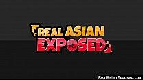 RealAsianExposed - Ajenda's tight sexy body drives her masseur wild