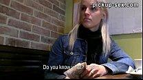 Amateur blondie Czech girl Beata pussy fucked a...