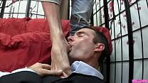 Cam Worships Lance's Feet
