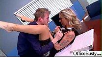 Slut Horny Girl (Kleio Valentien) With Big Melon Tits Enjoy Sex In Office video-19