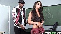 InnocentHigh Tight brunette teen Giselle Leon interracial sex