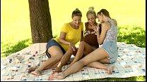 Lesbian gals wait for u