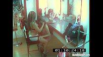 CCTV Captures A Hot And Skanky Lesbian Affair - download porn videos
