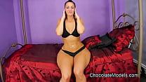Rosee Divine Black Bikini In Bikini