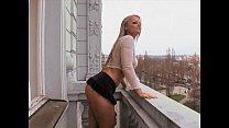 Sexy blond MILF takes a black cock