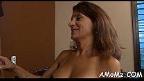 Sexy mom gets pleasure of schlong Thumbnail