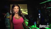 Big fake tits model Julie Zugarova