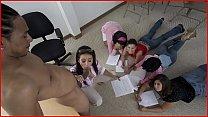 BANGBROS   MILF Nadia Styles Teaches Anatomy Class Using Castro Supreme