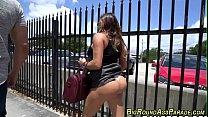 round booty latina rides