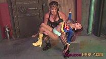 Huxly Smashes Supergirl - Saharra Huxly, Pixie ...