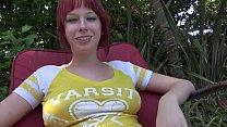 Filthy redhead teen slut Zoey Nixon gives blowj... Thumbnail