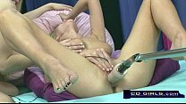 Carlie Banks on the orgasmatron sex machine wit...