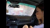 Naughty schoolgirl getting free drivinglessons