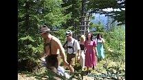 outdoor fuck fest orgy
