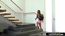 Lesbians Girl On Girl (Cadence Lux & Abigail Ma...