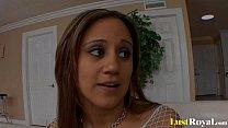 Pretty Elizabeth teaches her husband Carrasco about slamming