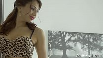 Anal-Angels.com -Jordan - Luxury Leopard Lingerie