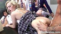 Sexy School Teens Boned by Big Dick Thumbnail
