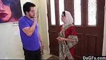 sexy Arabic girl with hot boyfriend Thumbnail