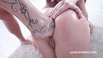 5on2 Fuckfest- Brittany and Lara Anal Sex Battl...